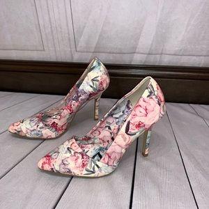 Elle Floral Heels